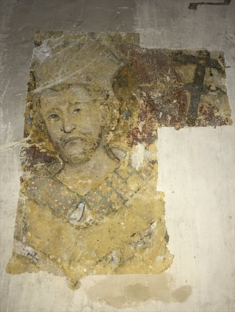 Poitiers, France: frescoes