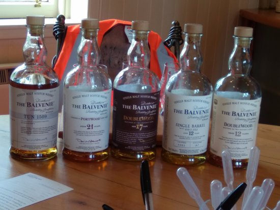 Dufftown, UK: The Balvenie Tasting