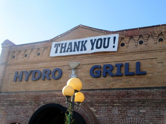 Hydro Bar and Grill : First Defender Thank You, Hydro Grill, Calistoga, CA