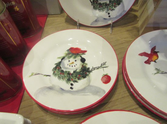The Culinary Institute of America at Greystone Holiday Plates in Store CIA Greystone & Holiday Plates in Store CIA Greystone Napa Valley CA - Picture of ...