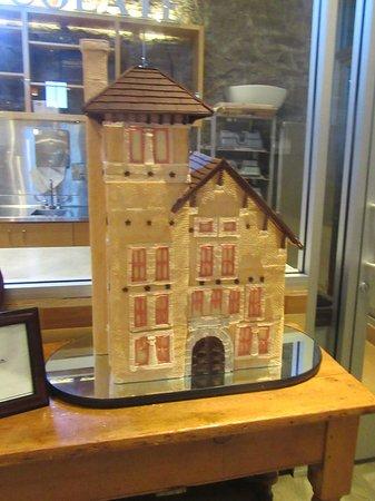 St. Helena, Καλιφόρνια: Holiday Gingerbread House, CIA Greystone, Napa Valley, CA