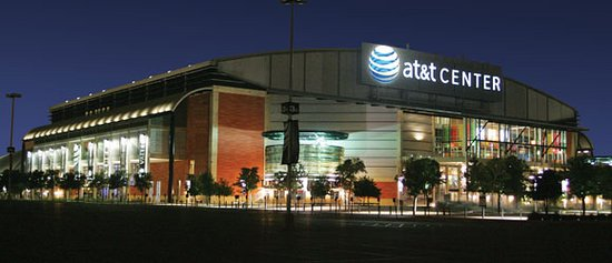 Comfort Suites Alamo/Riverwalk: SPURS Headquarters. Closest hotel to the AT&T Center from Downtown.