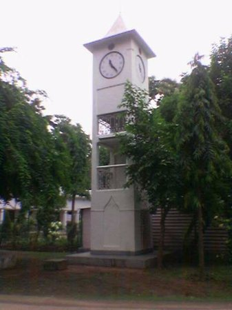 ‪‪Deoghar‬, الهند: Another view of Clock Tower in the Ashram ‬