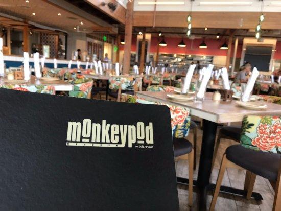 Monkeypod Inside The Restaurant
