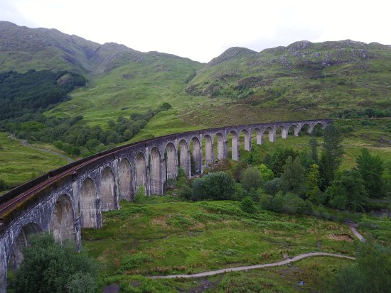 Glenfinnan, UK: Viaduct.