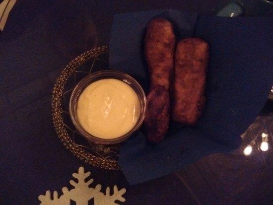 Beacon, Estado de Nueva York: Fish fingers and custard!