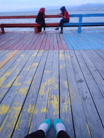 Talise Beach: The dock