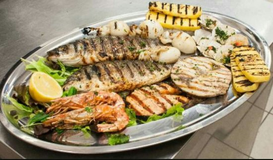 Radio Maria Bar & Restaurant: Girò pesce