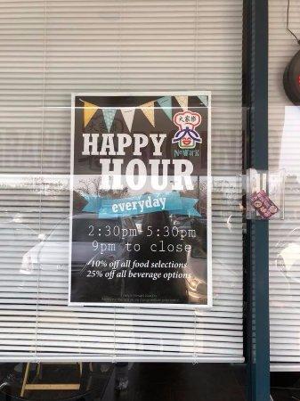 Newark, Kaliforniya: Happy hour
