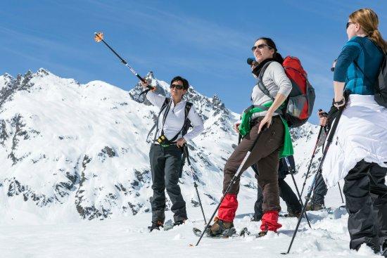 Partenen, Österreich: Wanderführerin Irena zeigt Euch in ihrem Lieblingsgebiet die Silvretta alle tollen Gipfel.