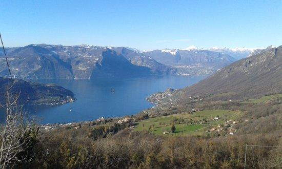 Сали-Маразино, Италия: lago d'Iseo