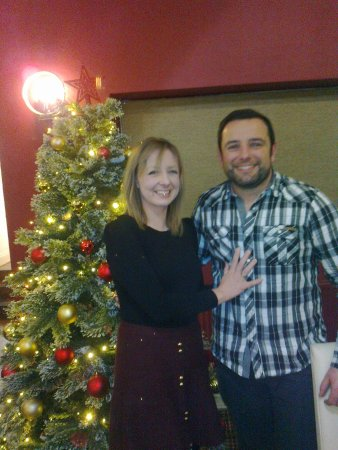 Clayton le Woods, UK: Just engaged, first Christmas at Ley Inn