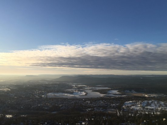 Musée du ski de Holmenkollbakken : Top view
