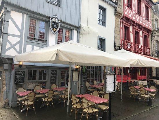 Josselin, Francia: la table d'o