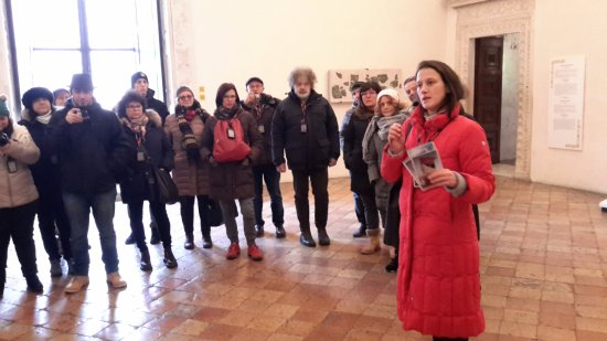 Guida Turistica Urbino: ALL'INTERNO DI PALAZZO DUCALE
