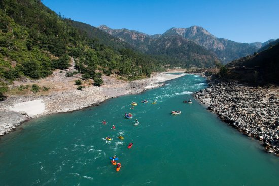 Kayaking and Rafting the Mighty Karnali in the Western Region of Nepal