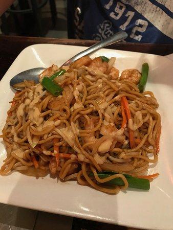 Shrimp Noodle dish, my friend loved it