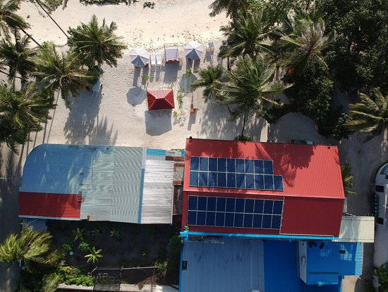 Canopus Retreat Thulusdhoo: Sustainable Tourism is deep in our roots. We have invested in solar to reduce our carbon foot pr