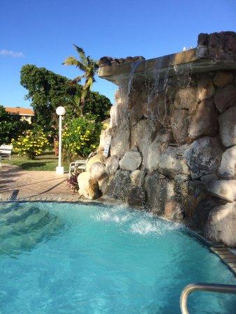 Sugar Bay Club: feature waterfall at pool