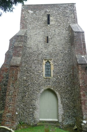Stelling Minnis, UK: the tower