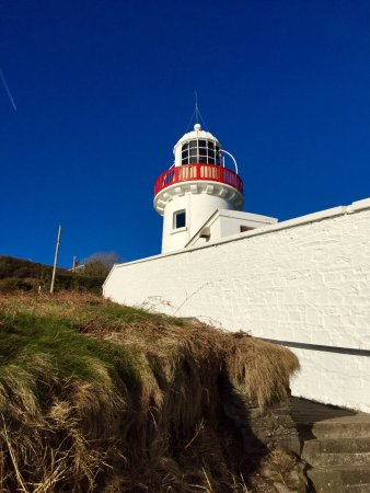 Youghal, Irlanda: The beautiful Lighthouse just a stones throw from the hotel