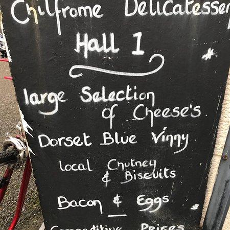 Wimborne Minster, UK: Wimborne Market