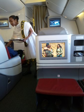 INFLIGHT ENTERTAINMENT - Picture of Ethiopian Airlines