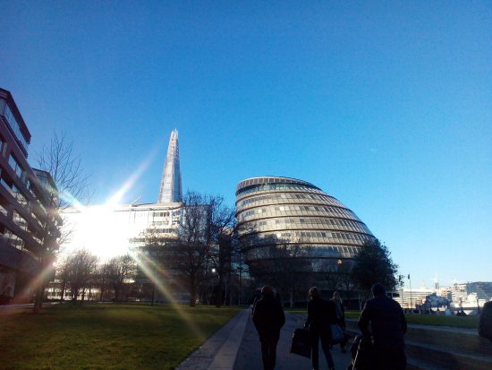 City Hall: design moderno