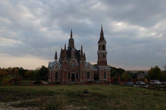 Veshalovka, Ρωσία: церковь Знамение
