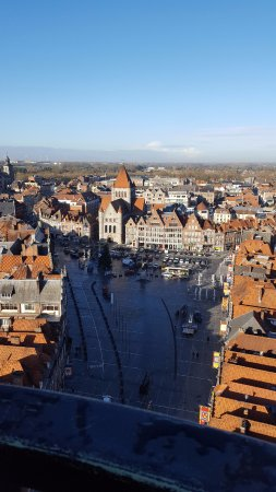 Tournai, Belgique : View from the top