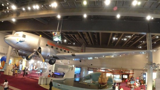 Hong Kong Science Museum : 비행기