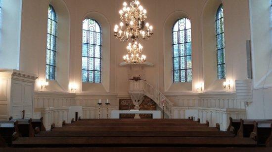 Stolberg, Duitsland: Finkenbergkirche von innen