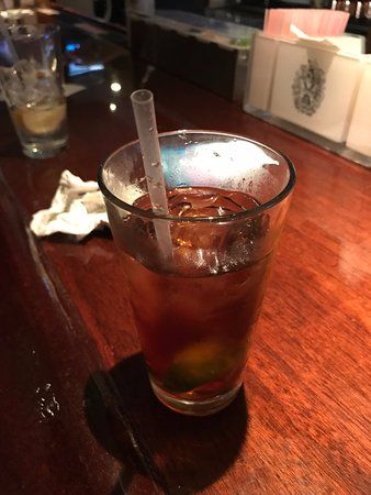 Crown and Anchor Inn : A delicious rum & diet from the bar