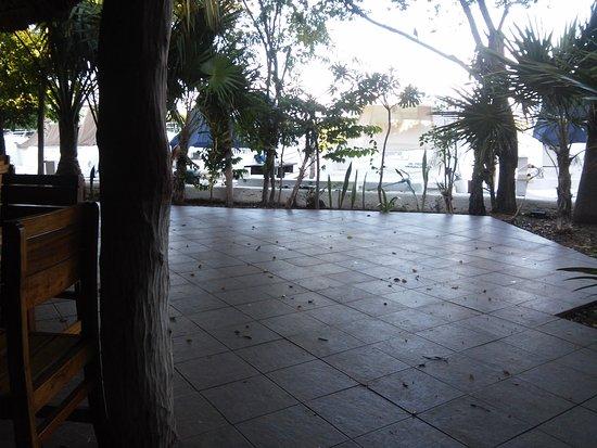 Sotavento Hotel & Yacht Club: comedor vista al lago