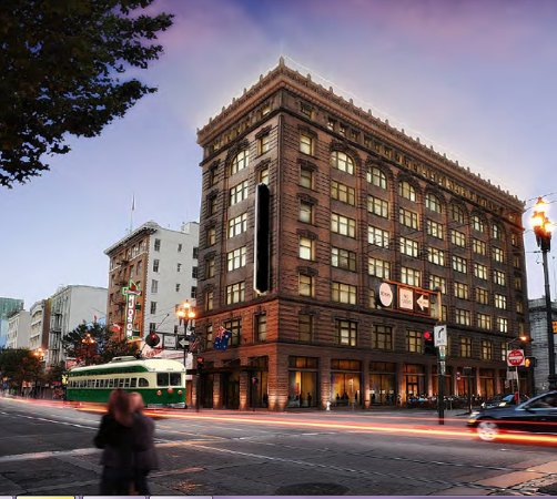Yotel San Francisco will be located in the historic Grant Building on Market Street.