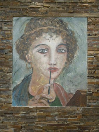 Peinture Murale De Véro Réato Fibule Photo De Villa