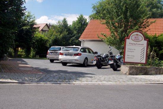 Residenz Am Schloss: kostenfreier Parkplatz