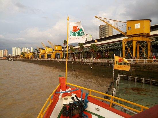 Estacao das Docas: Vista do Barco