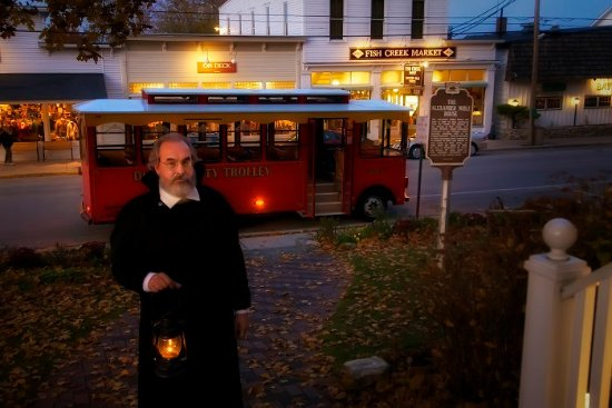Egg Harbor, WI: Trolley of the Doomed, Ghost tour of Door County