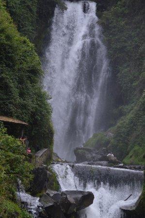 Peguche Waterfall Photo