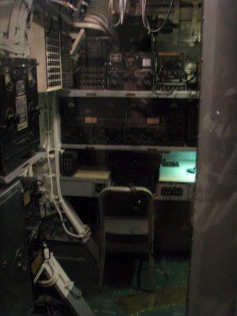 USS Bowfin Submarine Museum & Park: Radiokamer Bowfin