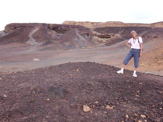 Damaraland, Namibia: volcanic ashes