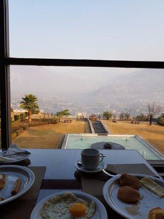 Fantastic view over breakfast