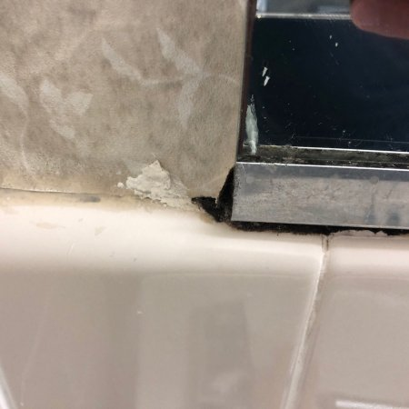 The Roosevelt Hotel: The photos show a few issues I had with my room. The hotel is desperate need of a remodel.