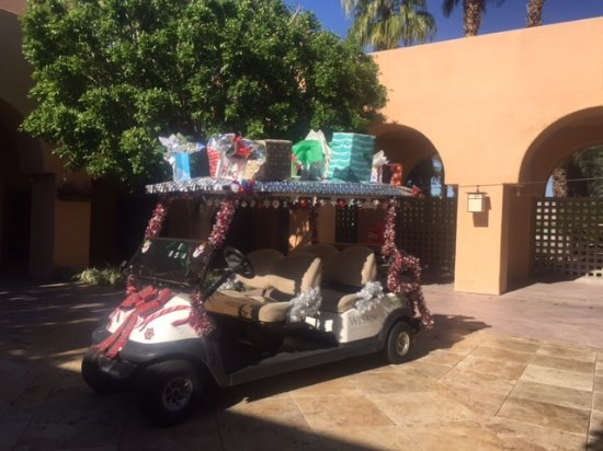 Golf Cart Decorated For Christmas Picture Of The Westin Mission