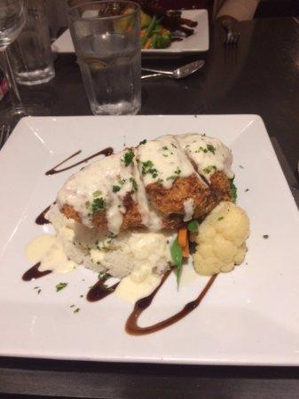 Fromage Brasserie: Crab Stuffed Chicken