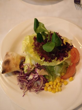 Thalwil, İsviçre: Feiner frischer Salat
