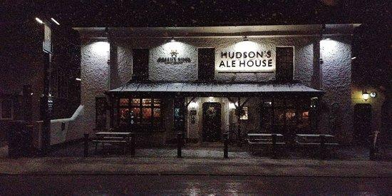Trumpington, UK: Let its snow, let it snow, let it snow!