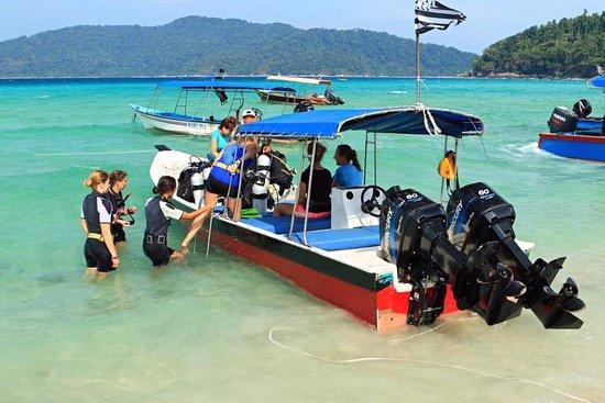 Kuala Besut, Malaysia: Diving ecpedition