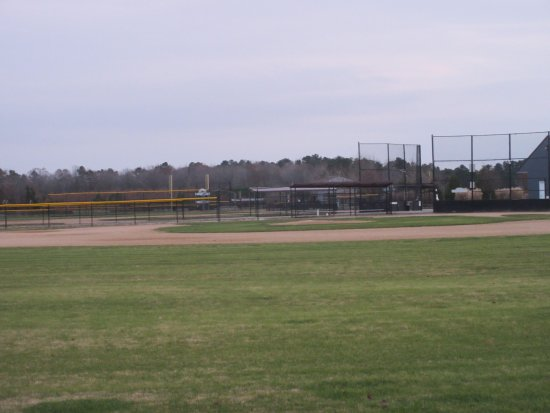 Georgetown, DE: Baseball field near the entrance